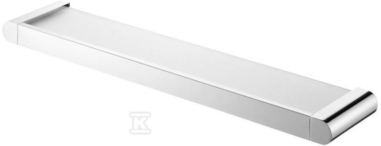 Futura silver półka pod lustro chrom
