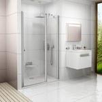 Chrome drzwi CSD2-120 aluminium Transparent