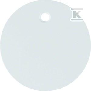 Płytka czołowa do łącznika cięgłowego Berker R.1/R.3 biały, połysk