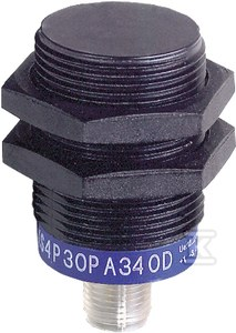 Czujnik indukcyjny M30 z wyjściem PNP i NPN 1NO/1NC, 12..24V DC, konektor M12