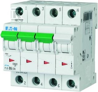 Wyłącznik nadprądowy 6kA PL6-C63/3N