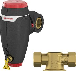 """Separator zanieczyszczeń ze zintegrowaną izolacją XStream Clean (DN25) G1""""F-GW"""