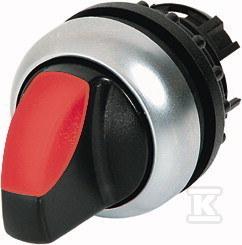 Przełącznik M22-WRLK-R podświetlany 2 położenia czerwony