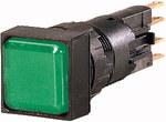 Lampka sygnalizacyjna Q18LF-GN soczewka zielona płaska