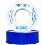 Taśma teflonowa 12mm x 12m x 0,075mm Onnline (niebieska)