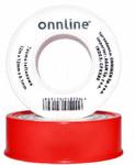 Taśma teflonowa 12m x 12mm x 0,1mm Onnline (czerwona)