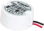 Zasilacz LED montażowy mini okrągły dopuszkowy IP67 / 15W / 1,25A / 12V/ 100-240V