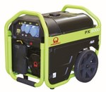 Agregat prądotwórczy przenośny PX8000 AVR Pramac, rozruch elektryczny, napięcie 230 V, moc ciągła 5kVA