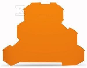 Ścianka końcowa/wewnętrzna grubość 0,8 mm pomarańczowa