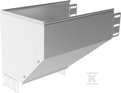 Kolanko redukcyjne lewe KRLBP500H110, grubość blachy 1,5mm
