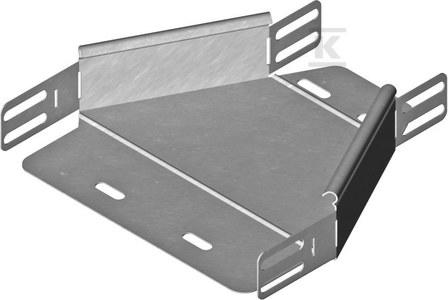 Redukcja symetryczna RKSBP100/50H60, grubość blachy 1,5mm