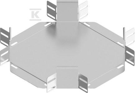 Czwórnik korytka CZKBJ150H80, grubość blachy 1,0mm