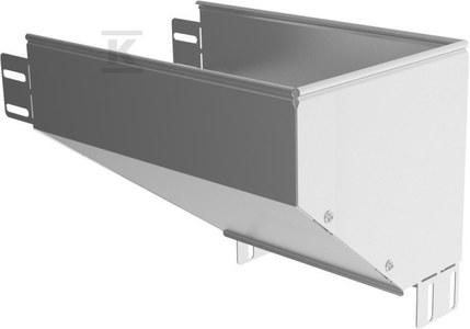Kolanko redukcyjne prawe KRPBJ300H80, grubość blachy 1,0mm