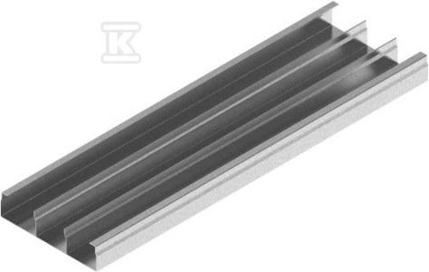 Kanał trzytorowy KNt175H48/2, grubość blachy 1,0mm /2m/
