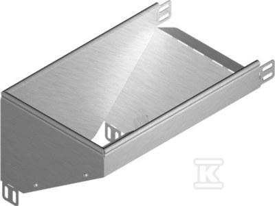 Kolanko redukcyjne lewe KRLBP300H60, grubość blachy 1,5mm