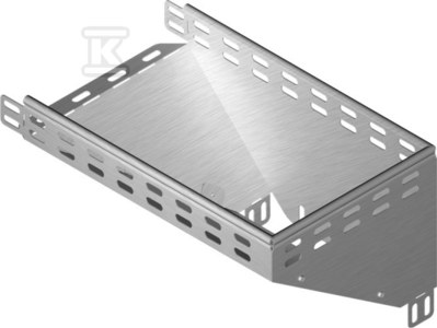 Kolanko redukcyjne prawe KRPP50H60, grubość blachy 1,5mm