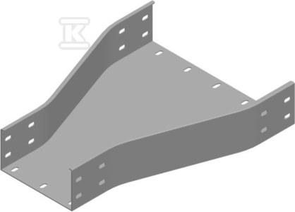 Redukcja symetryczna RKZP500/400H100, grubość blachy 1,5 mm