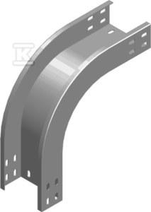 Łuk zewnętrzny 90° LZZP300H50, grubość blachy 1,5mm