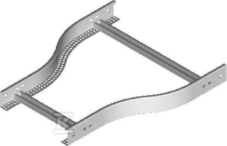 Redukcja drabinki symetryczna RDSC500/400H60 N, grubość blachy 2,0 mm