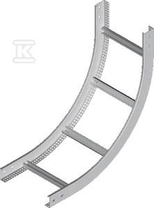 Łuk pionowy wewnętrzny drabiny LPDWC400H60N, grubość blachy 2,0mm