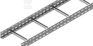 Drabinka DUP400H80/3 N, grubość blachy 1,5mm /3m/