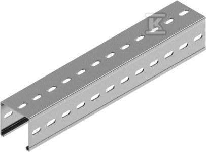 Ceownik montażowy CTMT100H100/6, grubość blachy 3,0mm