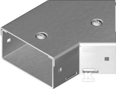 Kolanko 45° KKMMP50H50, grubość blachy 1,5mm