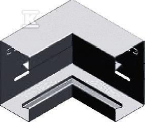 Kolanko wewnętrzne KWKS115H68, grubość blachy 1,0 mm E90