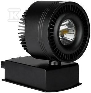 Projektor VT-4535 do szynoprzewodów 33W 1800lm LED 25° 4000K CRI>95 czarny