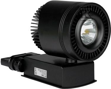 Projektor VT-4545 do szynoprzewodów 45W 2300lm LED 25° 5000K CRI>95 czarny