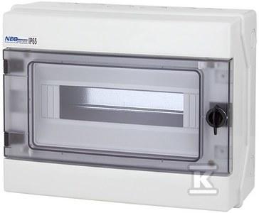 Rozdzielnica natynkowa RH-1x12 modułów IP65 ONNLINE 1000V DC PV