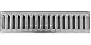 ACO DRAIN Multiline V 100 Ruszt w poprzeczne mostki, 100 cm stal ocynkowana klasa obciążenia C250