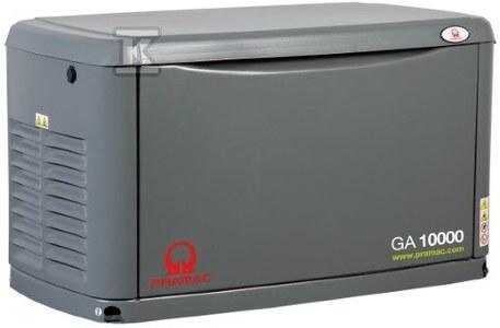 Agregat prądotwórczy stacjonarny, zasilany gazem, GA8000, rozruch elektryczny, napięcie 230 V, moc ciągła 7/8 kVA