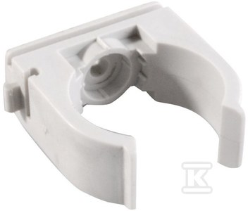 Uchwyt otwarty typ U do rur, średnica 20 mm, PA6, do osadzaka SC40, PSC40