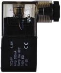 Cewka z wtyczką z diodą LED 24V DC, 4,8 W