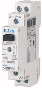 Przekaźnik instalacyjny 16A z diodą LED 24V AC 50/60Hz Z-R24/16-20