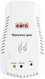 "Czujnik gazu ""EURA"" GD-05A2 230V/50Hz do gniazdka"