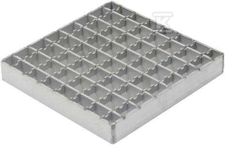 Ruszt do wpustów przemysłowych typ MESH kwadrat 168x168 22x22x25x3. L=1350 kg