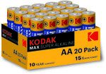 Bateria Alkaliczna KODAK MAX KAA-20 (LR6)
