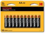 Bateria Alkaliczna KODAK XTRALIFE KAA-10 (LR6) blister 10szt.