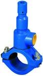 Nawiertka przyłączeniowa NP.-1 DN 225/50 do rur PVC/PE, o ściance do 11 mm, żeliwo szare GJL