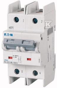 Rozłącznik modułowy DC z pokrętłem PV-DIS-06-100/2