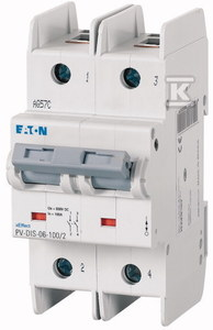 Rozłącznik modułowy DC PV-DIS-06-32/2
