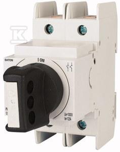 Rozłącznik modułowy DC z pokrętłem PV-DIS-06-63/2-ROT