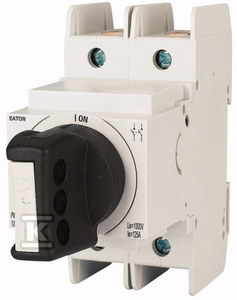 Rozłącznik modułowy DC z pokrętłem PV-DIS-06-125/2-ROT