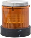 Element świetlny Fi70 pomarańczowy światło ciągłe LED 230V AC