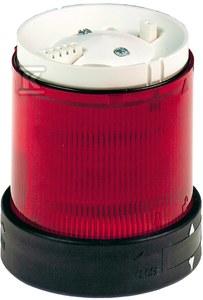 Element świetlny migający Fi70 czerwony LED 24V AC/DC