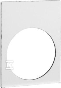 Etykieta wymiary 30x40mm 1 strona biała, 1 strona żółta