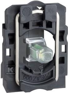 Korpus przycisku z elementem świetlnym zielony LED 24V zaciski śrubowe
