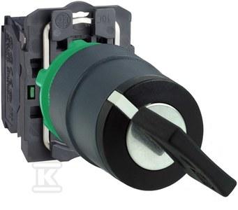 Przełącznik 2 pozycje czarny klucz 455 plastikowy stabilny ( lewo i prawo)